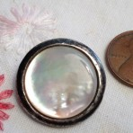 Mother of Pearl Vintage Button