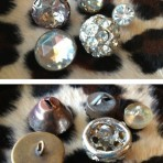 5 Blingy Buttons