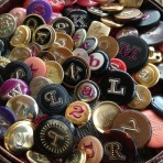 Monogrammed Buttons