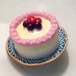 Birthday Cake Button