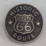 Route 66 Button