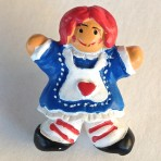 Raggedy Ann Button