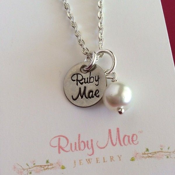 A Mothers day gift for a mom of twins Ruby & Mae