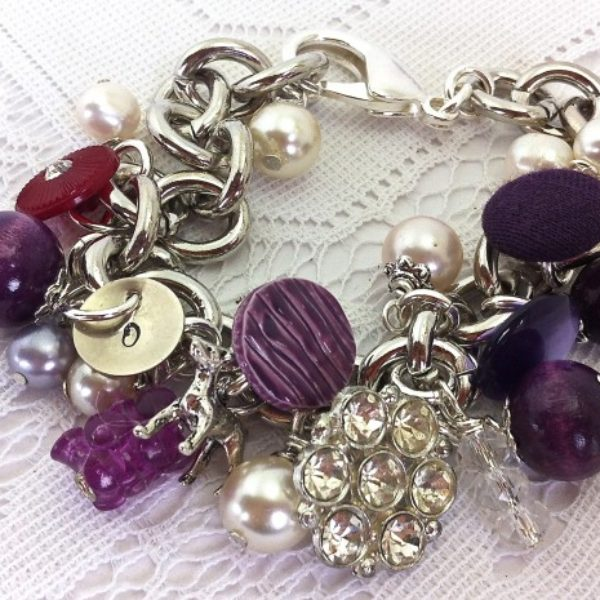 This special order bracelet is for Jill's bestie Dian.