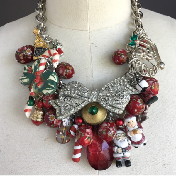 Elizabeth's Merry Christmas Necklace