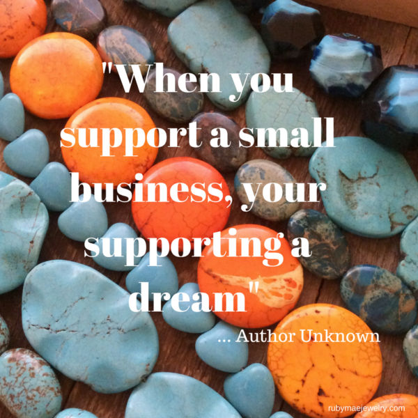 When You Support a Small Business…